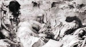 Some of the civilian casualties of the Battle for Manila that raged from 3 Feb. to 3 March 1945.