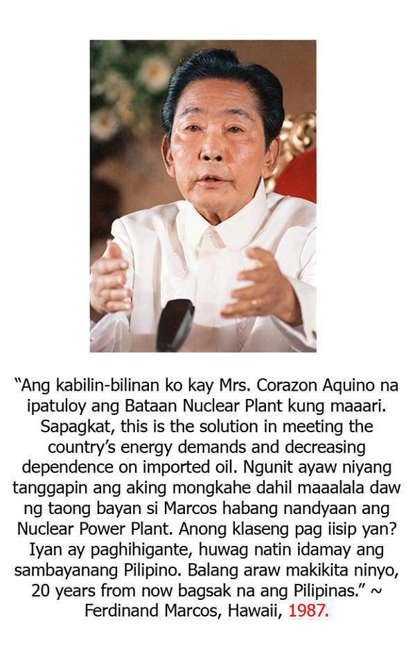 Marcos' advice to Cory Aquino on BNPP 1987