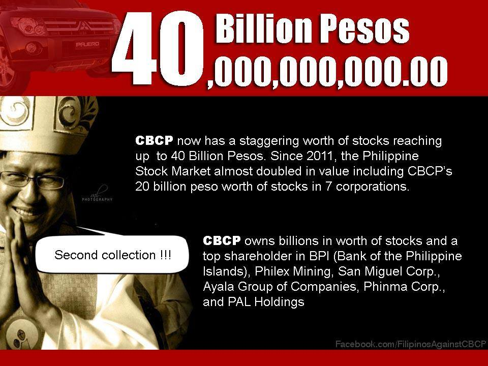 CBCP Investments as of 2011