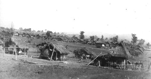 A concentration camp in Tanauan, Batangas