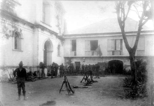 Las Piñas Church, used as headquarters by Maj. Gen. Henry Lawton. - June 10-12, 1899