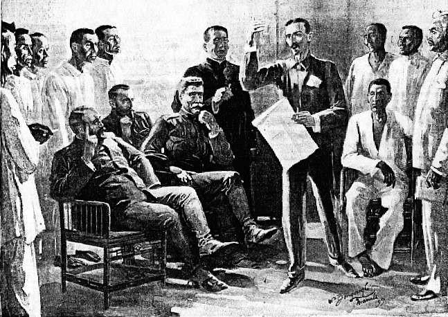 Las Piñas - Organizing local government in Las Pinas Aug. 1899