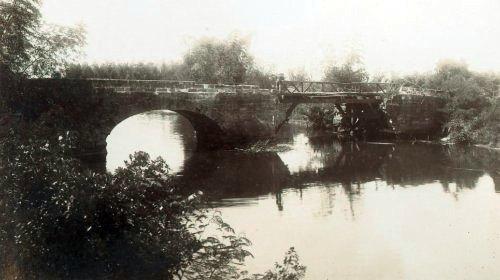 Philippine War 1899 - 1902 - Zapote River Bridge site of the Battle on 13 June 1899